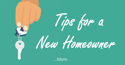 Tips for a New Homeowner
